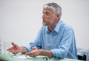 George Pattison British phiolosopher presenting at METU