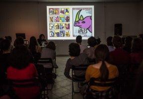 Michel Bouvet Graphic Designer presenting at METU